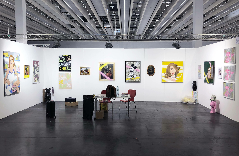 Glod - Soloshow Exhibition at Art Innsbruck in Austria, 2020