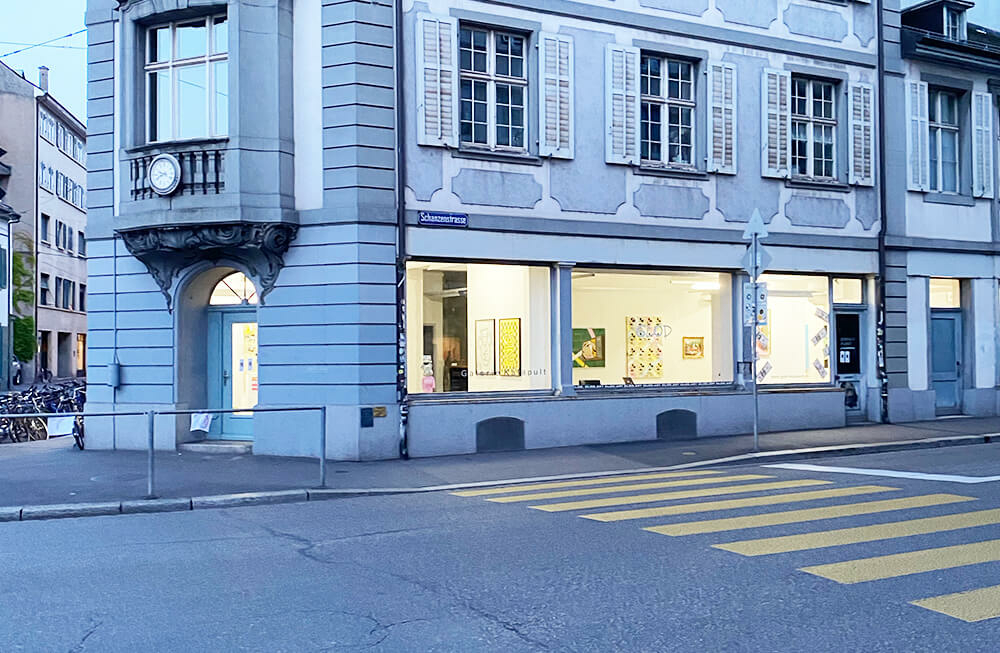 Glod - The first Soloshow in Switzerland, Basel. At Galerie Katapult, 2020